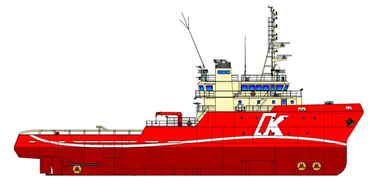 川崎近海汽船、6000馬力型オフショア支援船を新造へ
